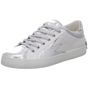 Crime London Sneaker Low silber