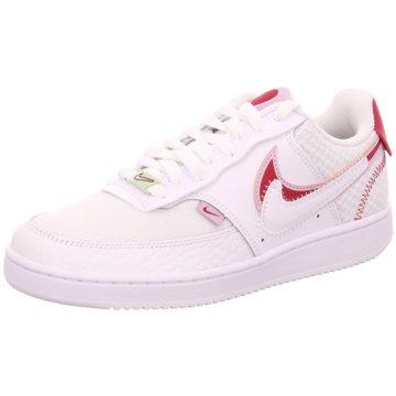 Nike Sneaker LowWMNS NIKE COURT VISION LO PRMV - CI7827-100 weiß