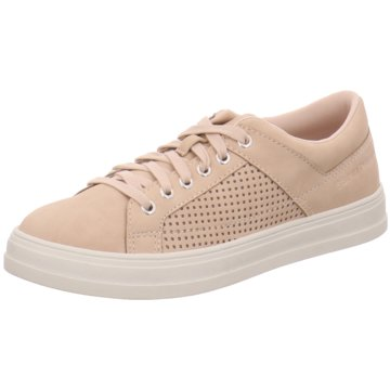 Esprit Sportlicher Schnürschuh beige