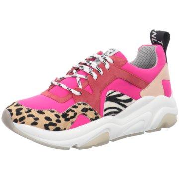 Meline Plateau Sneaker pink