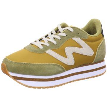 Woden Plateau Sneaker gelb