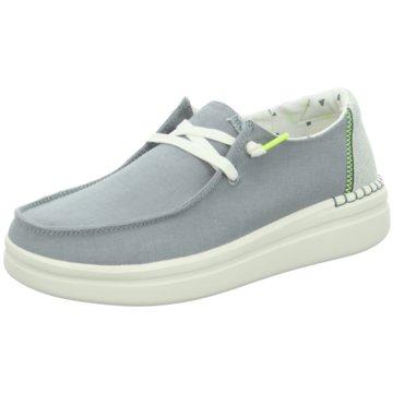 Hey Dude Shoes Bootsschuh blau