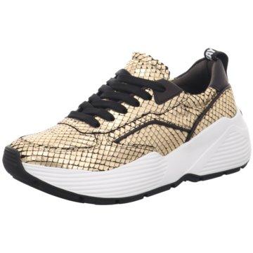 Kennel + Schmenger Plateau Sneaker gold