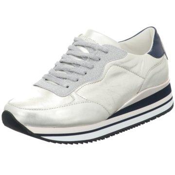 Crime London Plateau Sneaker silber
