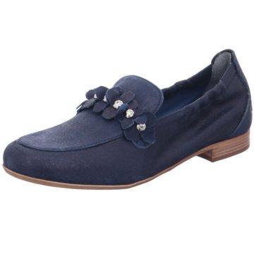 Maripé Klassischer Slipper blau