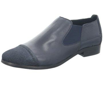 Mitica Komfort Stiefelette blau