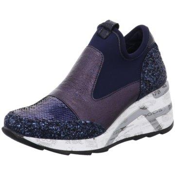Cetti Sneaker Wedges blau