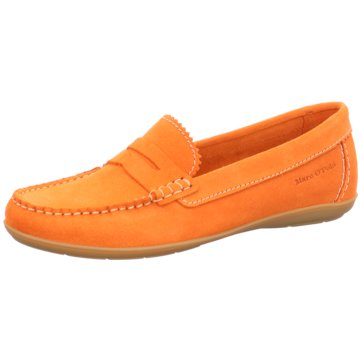 Marc O'Polo Mokassin Slipper orange