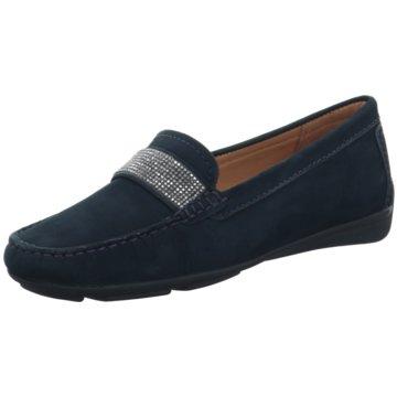 Wirth Komfort Slipper blau