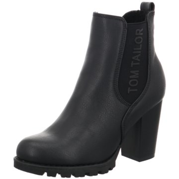 Tom Tailor Chelsea Boot schwarz