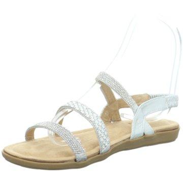 OOG Komfort Sandale silber