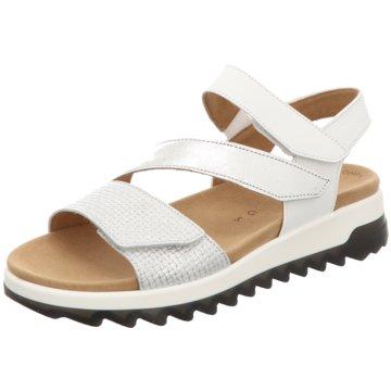 Gabor comfort Komfort Sandale weiß