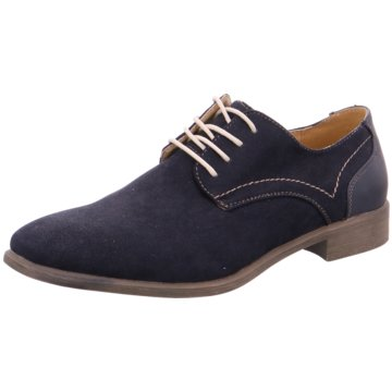 Hengst Footwear Klassischer Schnürschuh blau