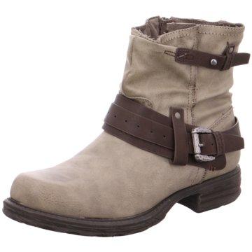 Jane Klain Biker Boot grau