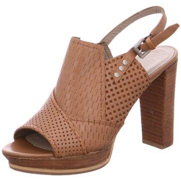 SPM Shoes & Boots Peeptoe braun