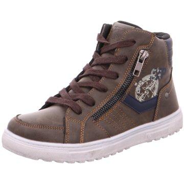 Softwaves Sneaker High braun