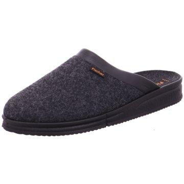 Fischer Schuhe HausschuhAndy grau