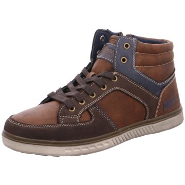 Supremo Sneaker High braun