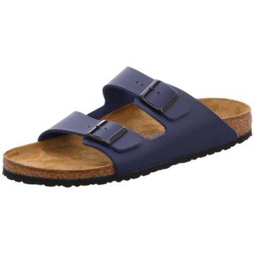 Birkenstock Klassische Pantolette blau