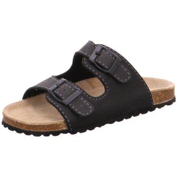 Indigo Offene Schuhe schwarz