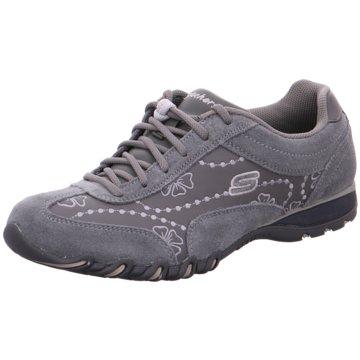 Skechers Komfort Schnürschuh grau