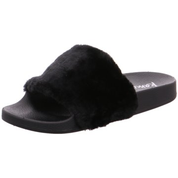 kamoa Pool Slides schwarz