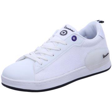 Vespa Sneaker Low weiß