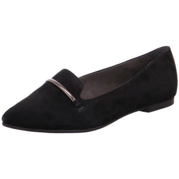 s.Oliver Top Trends Ballerinas schwarz