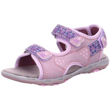 Supremo Offene Schuhe rosa