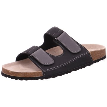 Indigo Komfort Sandale schwarz