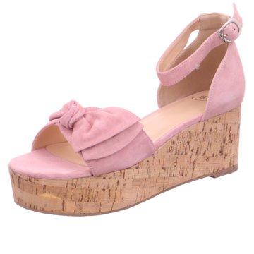 SPM Shoes & Boots Keilsandalette rosa