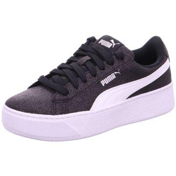 Puma Sneaker LowVikky Platform Glitz schwarz
