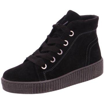 Gabor Sneaker HighSchlupfschuh schwarz