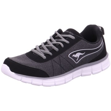 KangaROOS 39029,jet black/steel grey