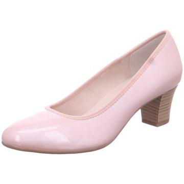 Jana Klassischer Pumps rosa
