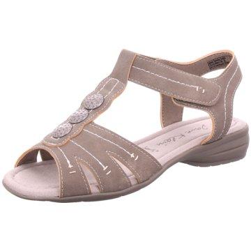 Idana Komfort Sandale braun