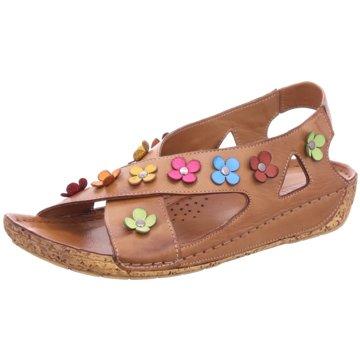Gemini Komfort Sandale braun