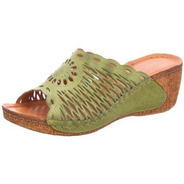 Gemini Komfort Pantolette grün