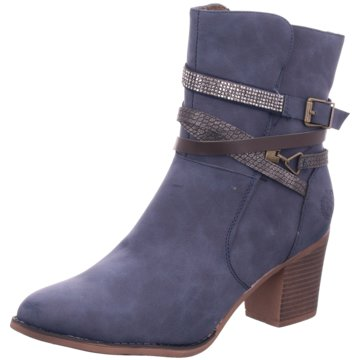 Jane Klain Klassische Stiefelette blau