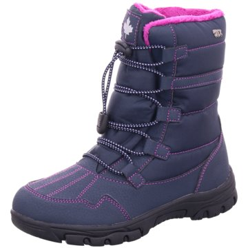 Softwaves Winterstiefel blau