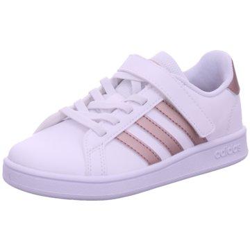 adidas Sneaker LowGRAND COURT C - EF0107 weiß