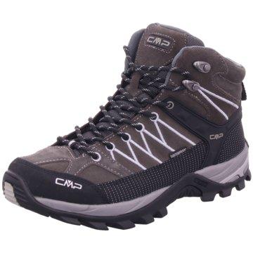CMP Outdoor SchuhRIGEL MID TREKKING SHOE WP - 3Q12947 grau