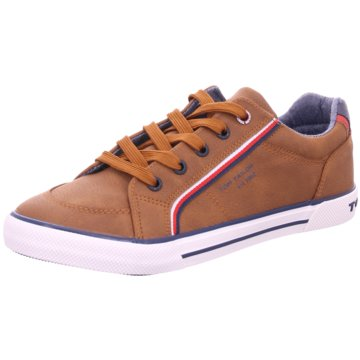 Tom Tailor Sneaker Low braun