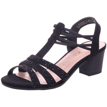 Jane Klain Komfort Sandale schwarz