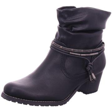 Idana Komfort Stiefelette schwarz