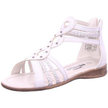 Idana Offene Schuhe silber