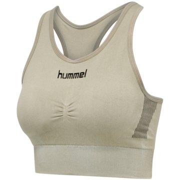 Hummel Sport-BHsFIRST SEAMLESS BRA WOMEN - 202647 oliv