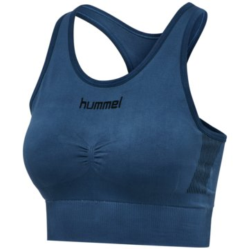 Hummel Sport-BHsFIRST SEAMLESS BRA WOMEN - 202647 blau