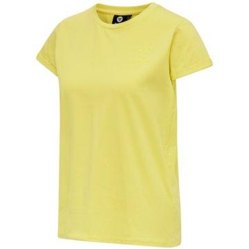Hummel T-ShirtsISOBELLA T-SHIRT S/S - 203049 gelb