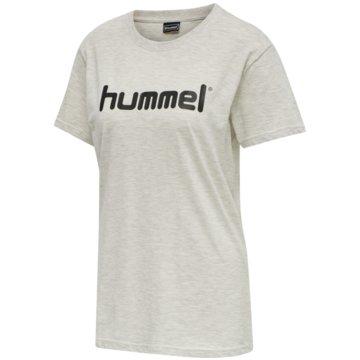 Hummel LangarmshirtHMLGO COTTON LOGO T-SHIRT WOMAN S/S - 203518 weiß